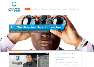 CustomerSafe 365 Site