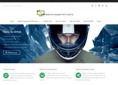 digital engagement plans website