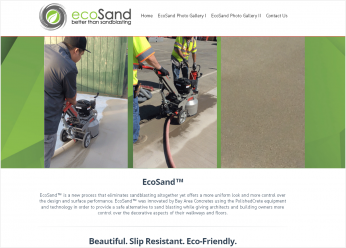 ecosand usa website