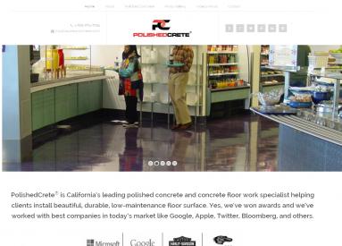 polishedcrete website